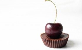 Raw Dark Chocolate Cherry Cream Cups (Vgn)