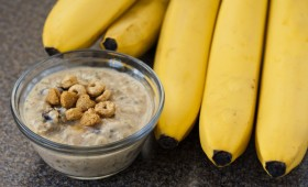 Peanut-butter Banana Overnight Oats