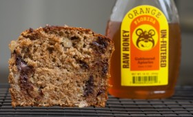 Orange Blossom Honey Banana Bread