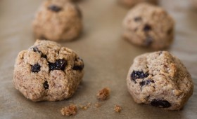Cinnamon Raisin Almond Cookie Munchies (gf, vgn)